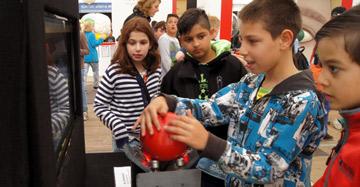 Die Mitmachausstellung auf dem Explorado Abenteuer-Campus