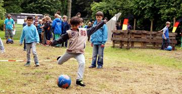 World Of Soccer auf dem Explorado Abenteuer-Campus Münster (Bild: Vitaly Krivosheev - Fotolia.com)
